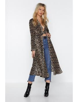 Def Leopard Maxi Blouse by Nasty Gal