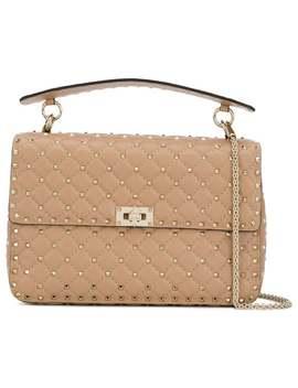 Teen Rockstud Spike Tote Bag by Valentino