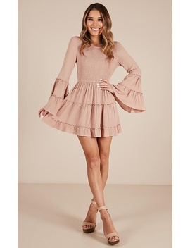 Ask Me Later Dress In Mocha by Showpo Fashion