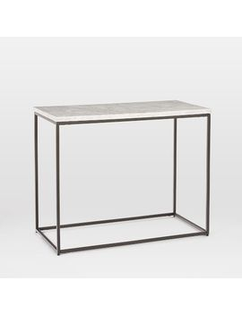 streamline-side-table---marble by west-elm