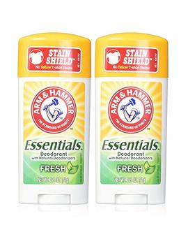 Arm & Hammer Essentials Deodorant, Fresh, 2.5 Oz. (Pack Of 2) by Arm & Hammer