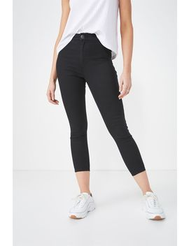 High Rise Capri Jegging by Cotton On
