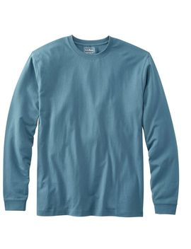 Carefree Unshrinkable Tee, Traditional Fit Long Sleeve by L.L.Bean