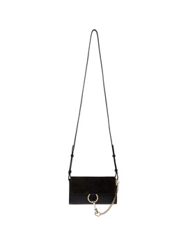 Black Mini Faye Wallet Bag by ChloÉ