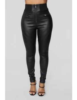 Ask Me Out Pants   Black by Fashion Nova