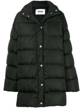 Oversized Padded Coat by Msgm
