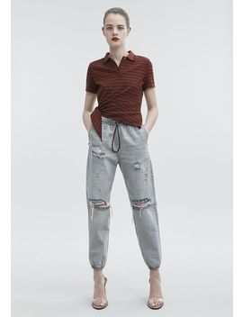 Side Knot Polo by Alexander Wang