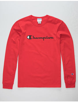 Champion Heritage Red Mens T Shirt by Champion