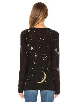 Moon And Stars Pullover by Chaser