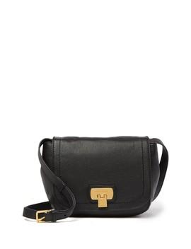 Hinge Lock Leather Crossbody Bag by Cole Haan