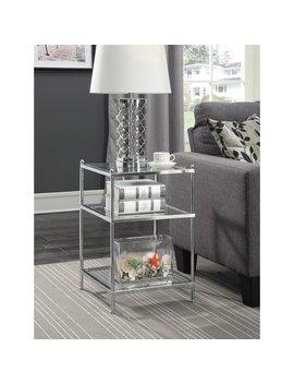 Convenience Concepts No Tools Royal Crest End Table by Convenience Concepts
