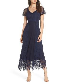 Gloria Lace Midi Dress by Foxiedox