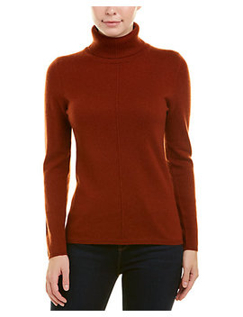 In Cashmere Turtleneck Cashmere Sweater by Incashmere