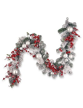 national-tree-6-foot-christmas-garland by bed-bath-and-beyond
