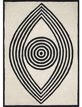 Now House By Jonathan Adler Wink Collection Area Rug, 5' X 7', Ivory by Now House By Jonathan Adler