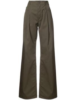 Oversized Wide Leg Trousers by Maison Margiela