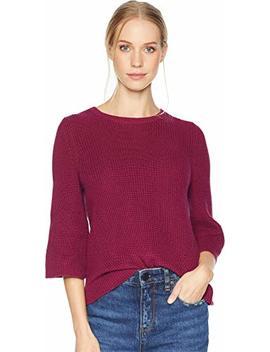 Michael Stars Womens Cotton Knits 3/4 Sleeve Swing Sweater by Michael+Stars