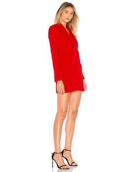 Lina Dress In Lipstick Red by Astr The Label