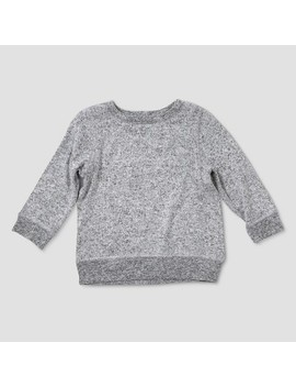 Baby Boys' Afton Street Long Sleeve Pullover Sweatshirt   Heather Gray by Afton Street