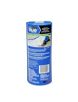 Scotch Blue Pre Taped Painter's Plastic, Unfolds To 48 Inches By 30 Yard by Scotch Blue