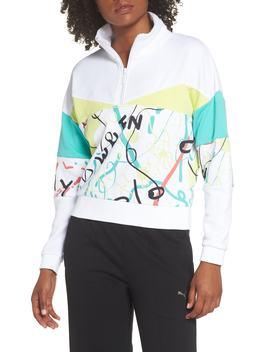 X Shantell Martin Quarter Zip Pullover by Puma