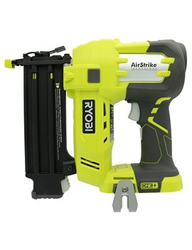 Ryobi P320 Airstrike 18 Volt One+ Lithium Ion Cordless Brad Nailer (Battery Not Included, Power Tool Only) by Ryobi