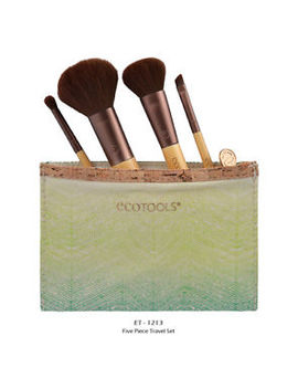 "1 Ecotools Makeup Brush Five Piece Travel Collection ""Et 1213"" Joy's Cosmetics by Eco Tools"