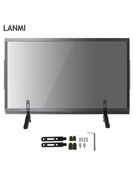 Lanmi Tv Universal Tv Stand Base Replacement Table Top Pedestal Mount Fits 26 28 30 32 37 Inch Lcd Led Plasma T Vs(Black.Dz065)… by Lanmi