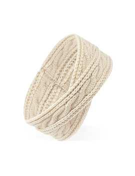 Crisscross Knit Headband by Forever 21