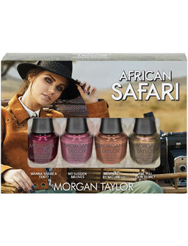 Online Only African Safari Mini 4 Pack by Morgan Taylor