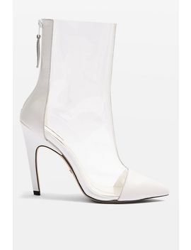 Hockey Clear Pointed Boots by Topshop