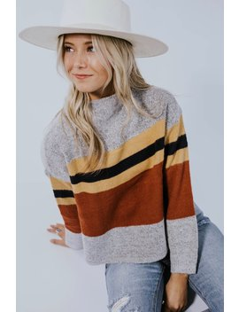 Kathleen Stripe Sweater by Roolee