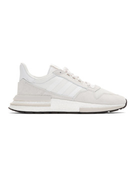 White Zx 500 Rm Sneakers by Adidas Originals