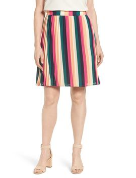 X Hi Sugarplum! Navio Pleat Skirt (Regular & Petite) (Nordstrom Exclusive) by Gibson