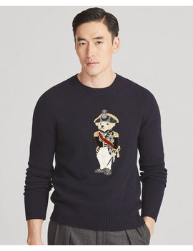 Admiral Bear Sweater by Ralph Lauren