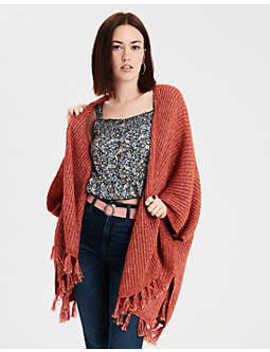 Aeo Fringe Duster by American Eagle Outfitters