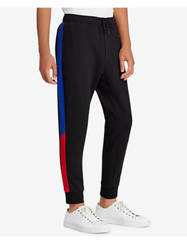 Downhill Skier Men's Double Knit Jogger Pants by Polo Ralph Lauren
