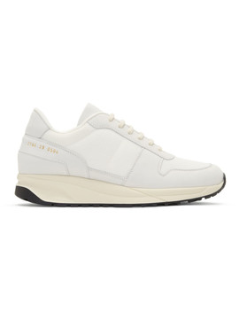White Track Vintage Sneakers by Common Projects