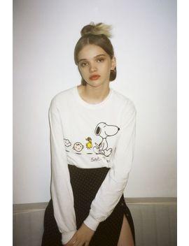 Peanuts Long Sleeve Tee by Urban Outfitters