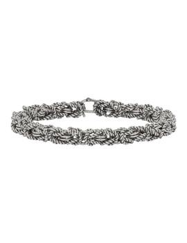 Silver Byzantine Bracelet by Ugo Cacciatori
