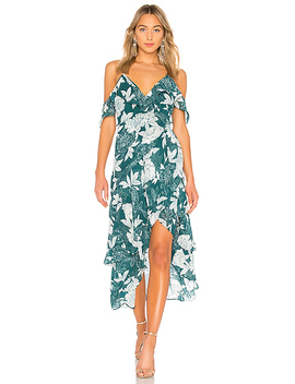 Floral Party Dress by Bardot