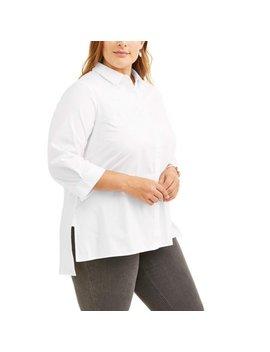 Lifestyle Attitude Women's Plus Embroiderd Blouse by Lifestyle Attitude