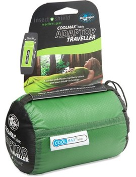 Sea To Summit   Cool Max Adaptor Traveller Sleeping Bag Liner With Insect Shield by Sea To Summit