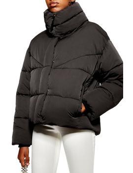 Meghan Puffer Jacket by Topshop