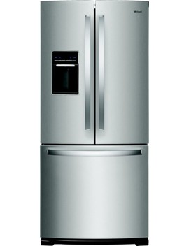 19.7 Cu. Ft. French Door Refrigerator   Stainless Steel by Whirlpool