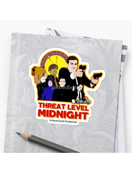 Threat Level Midnight by Pickledbeets