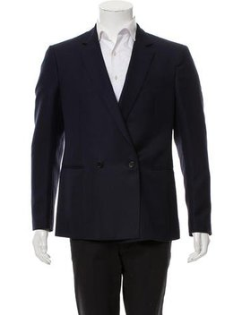 Salvatore Ferragamo Wool & Mohair Blazer by Salvatore Ferragamo