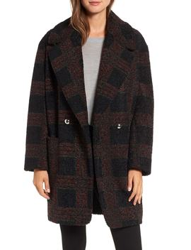 Glen Plaid Berber Coat by Sosken