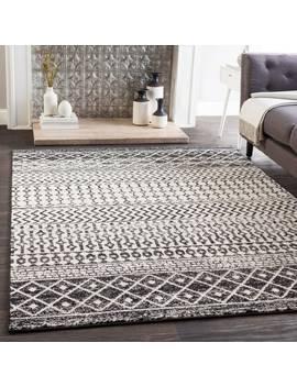 edie-black-&-white-bohemian-area-rug by generic