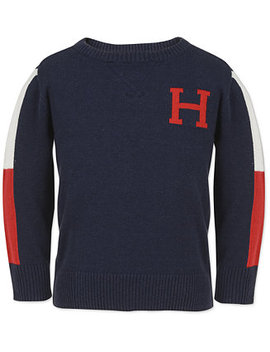 Big Boys Signature Sweater by Tommy Hilfiger